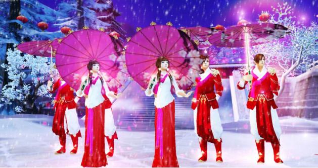 《天龙八部3》洛阳初雪如约而至,冬季新服暖心开启  第2张