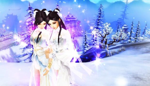《天龙八部3》洛阳初雪如约而至,冬季新服暖心开启  第3张